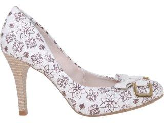 Sapato Feminino Bebêcê844161 Off White - Tamanho Médio