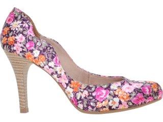 Sapato Feminino Bebêcê834001 Floral - Tamanho Médio