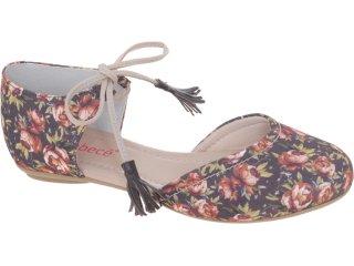 Sapatilha Feminina Bebêcê112153 Floral - Tamanho Médio