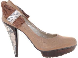 Sapato Feminino Tanara 0822 Avelã - Tamanho Médio