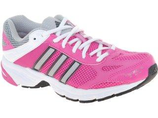 Tênis Feminino Adidas Duramo 4w V21941  Pink/branco - Tamanho Médio