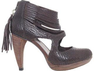 Sapato Feminino Tanara 2991 Café - Tamanho Médio