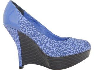 Sapato Feminino Tanara 3001 Azul - Tamanho Médio