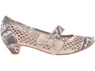 Sapato Feminino Tanara 2963 Fibra - Tamanho Médio