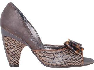 Sapato Feminino Tanara 0851 Castanho - Tamanho Médio