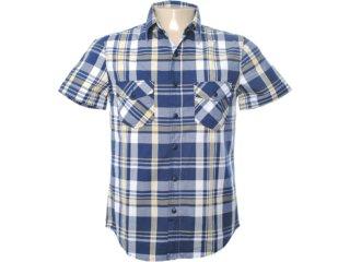 Camisa Masculina Hering H24v P42ghw Xadrez - Tamanho Médio