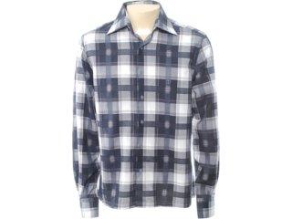 Camisa Masculina Individual 302.408.900 Cinza Claro - Tamanho Médio