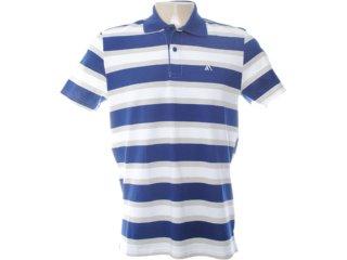 Camiseta Masculina Mineral 95103 Listrado Marinho - Tamanho Médio