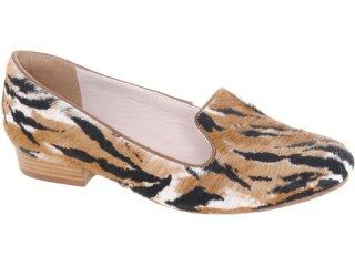 Sapato Feminino Tanara Slipper 3014 Onca - Tamanho Médio