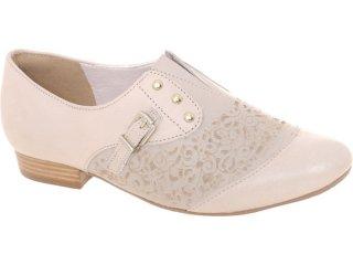 Sapato Feminino Tanara 3015 Fibra - Tamanho Médio