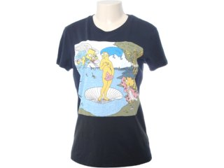 Camiseta Feminina Cavalera Clothing 09.02.0871 Preto - Tamanho Médio