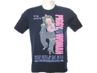 Camiseta Masculina Cavalera Clothing 01.01.6568 Preto - Tamanho Médio