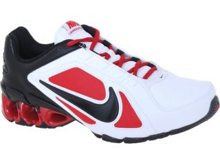 Tênis Masculino Nike 487979-106 Impax Atlas  Bco/verm/pto - Tamanho Médio