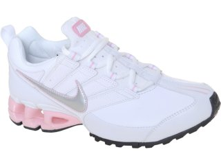 Tênis Feminino Nike 442472-103 Impax Contain Branco/rosa - Tamanho Médio