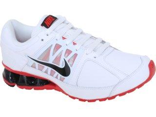 Tênis Masculino Nike 472774-101 Reax Run Branco/vermelho - Tamanho Médio