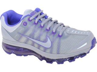 Tênis Feminino Nike 476784-050 Air Max  Cinza/violeta - Tamanho Médio