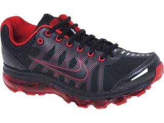 Tênis Masculino Nike 476784-001 Air Max  Preto/vermelho - Tamanho Médio