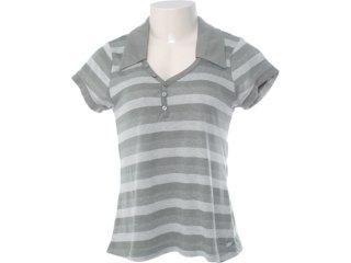 Camiseta Feminina Hering Kk1c 1asi Musgo - Tamanho Médio