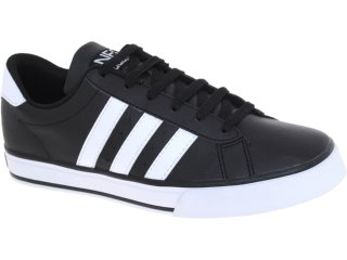Tênis Masculino Adidas G11711 se Daily Vulc Preto/branco - Tamanho Médio