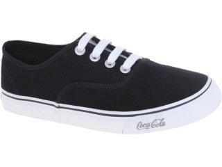 Tênis Masculino Coca-cola Shoes Cc0162 Preto - Tamanho Médio