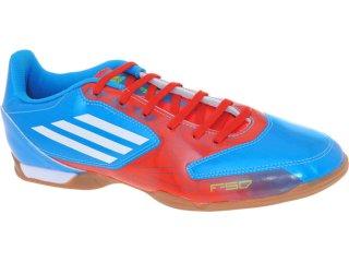Tênis Masculino Adidas G29375 f5 in Azul/laranja - Tamanho Médio