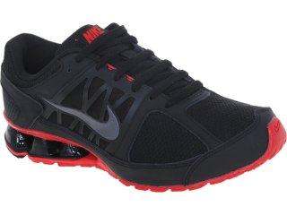 Tênis Masculino Nike 472773-005 Reax Run Preto/vermelho - Tamanho Médio