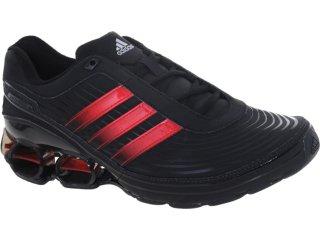 Tênis Masculino Adidas V21505 Devotion pb Preto/vermelho - Tamanho Médio