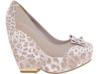 Sapato Feminino Via Marte 12-4402 Nude - Tamanho Médio