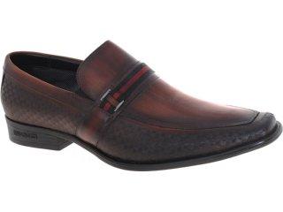 Sapato Masculino Ferracini 5413 Castanho - Tamanho Médio