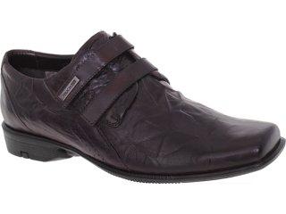Sapato Masculino Ferracini 6943 Conhaque - Tamanho Médio