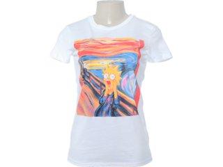 Camiseta Feminina Cavalera Clothing 09.02.0872 Branco - Tamanho Médio