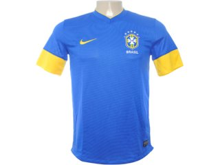 Camiseta Masculina Nike 447936-493 Azul/amarelo - Tamanho Médio