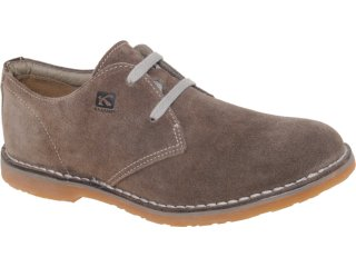 Sapato Masculino Kildare ru 1201 Café - Tamanho Médio