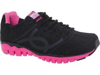 Tênis Feminino Olympikus Jump Preto/pink - Tamanho Médio