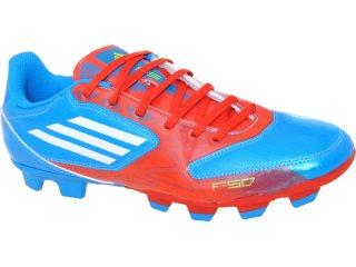 Chuteira Masculina Adidas G29703 f5 Adizero tr Azul/vermelho - Tamanho Médio