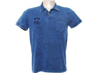 Camisa Masculina Dopping 015462022 Marinho - Tamanho Médio
