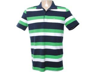Camisa Masculina Mineral 99464 Verde/marinho - Tamanho Médio