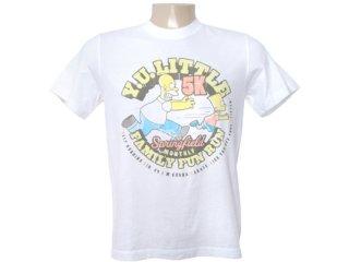 Camiseta Masculina Cavalera Clothing 01.01.6265 Branco - Tamanho Médio