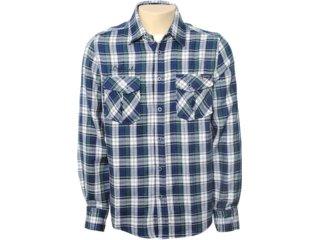Camisa Masculina Mooncity 110011 Verde Escuro - Tamanho Médio