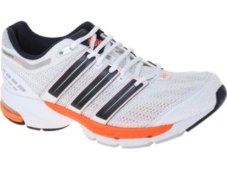 Tênis Masculino Adidas V22874 Resp Cushion Branco/laranja - Tamanho Médio