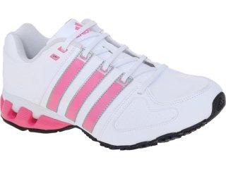 Tênis Feminino Adidas G58964 Runbeat w Branco/rosa - Tamanho Médio