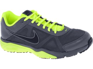 Tênis Masculino Nike 512109-003 Dual Fusion Chumbo/limão - Tamanho Médio