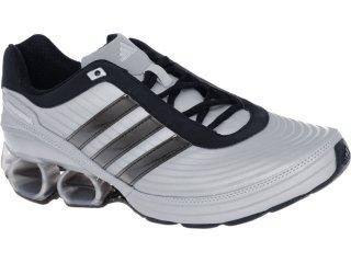 Tênis Masculino Adidas V23392 Devotion pb Prata/preto - Tamanho Médio