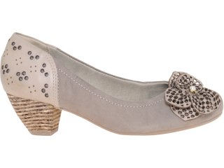Sapato Feminino Campesi 2023 Rato/avelã - Tamanho Médio