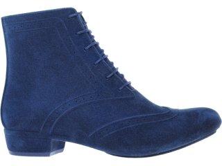 Bota Feminina Grendene Zaxy 16320 Azul - Tamanho Médio