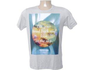Camiseta Masculina Coca-cola Clothing 353202800 Cinza Claro - Tamanho Médio