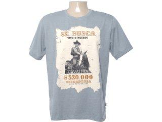 Camiseta Masculina Cavalera Clothing 01.01.6535 Mescla - Tamanho Médio