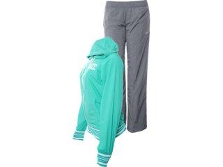 Abrigo Feminino Nike 450683-318 Verde/cinza - Tamanho Médio