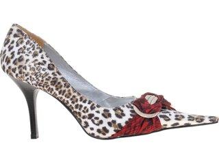 Sapato Feminino Guth Guthy 30254 Onca - Tamanho Médio