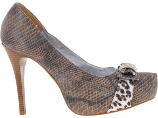Sapato Feminino Guth Guthy 22237 Cobra - Tamanho Médio